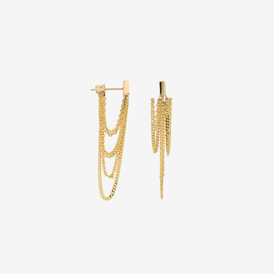 14k Chandelier Earrings