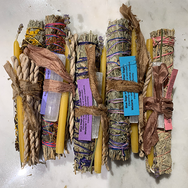 Jacki Holland Sacred Aromatic Bundles