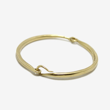 K/LLER Brass Hinged Bangle
