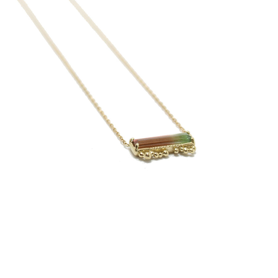 Lio&Linn - Watermelon Tourmaline Necklace