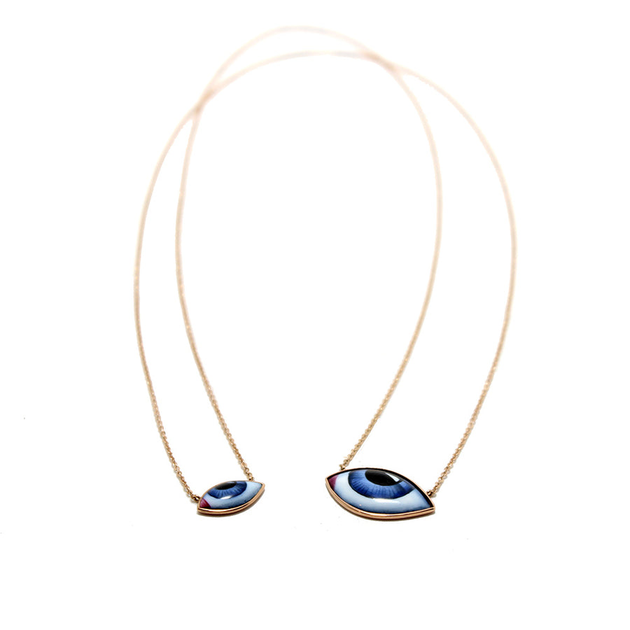 Lito Blue Eye Escapulario Necklace