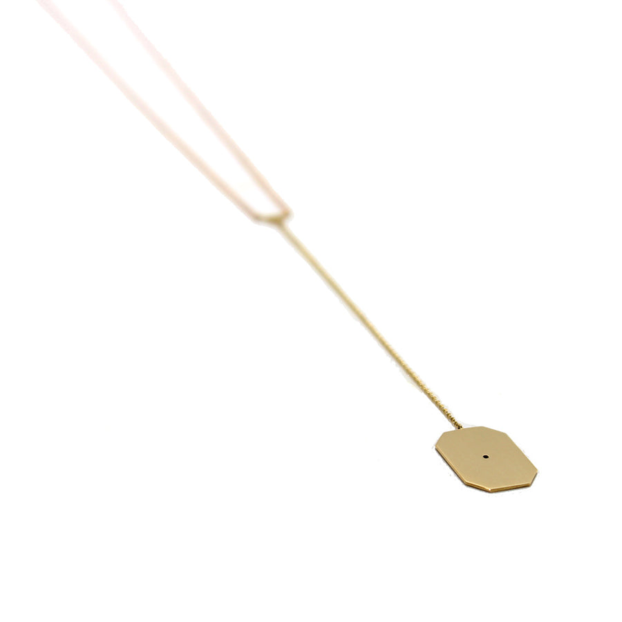 Lito Mixed Metal Lariat Necklace