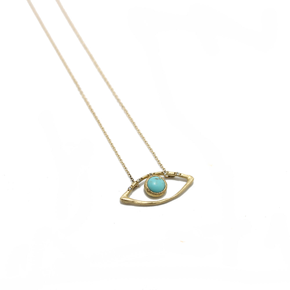 Page Sargisson Turquoise Eye Necklace