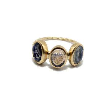 Pascale Monvoisin Labradorite I Love You Ring