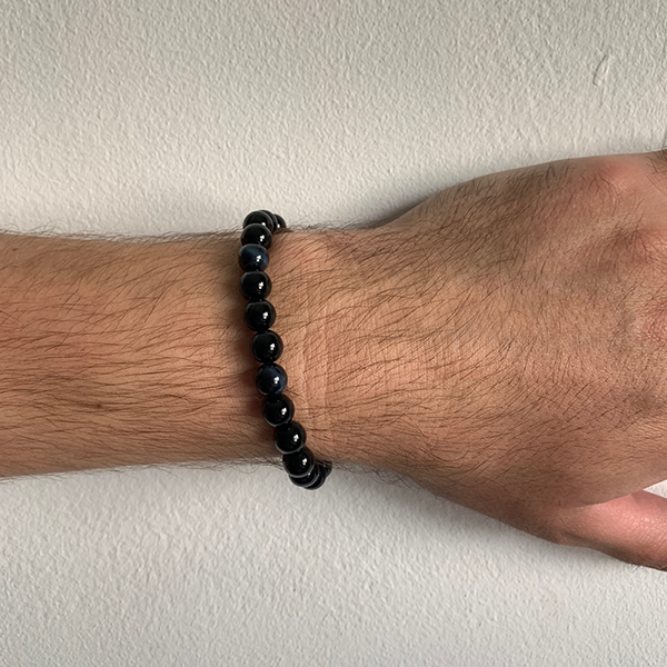 Men's Gemstone Bead Bracelets
