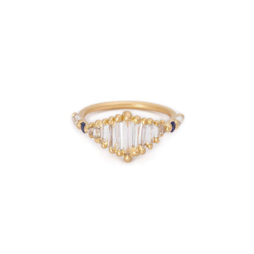 Polly Wales Shard Split Halo Ring
