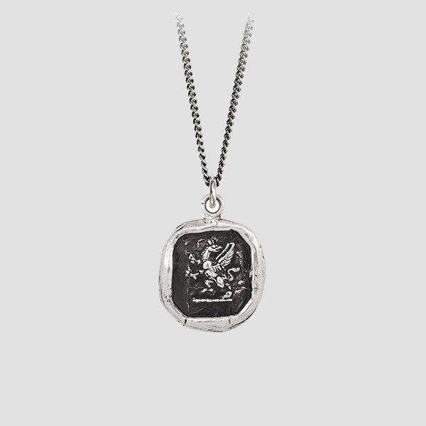 Pyrrha Fearless Talisman Necklace