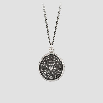Pyrrha True Self Talisman Necklace