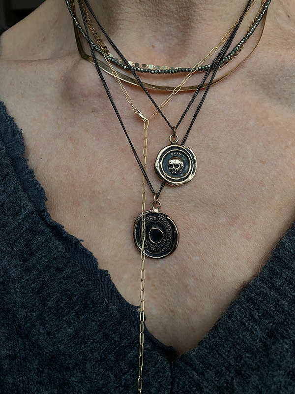 Pyrrha Knowledge Talisman Necklace