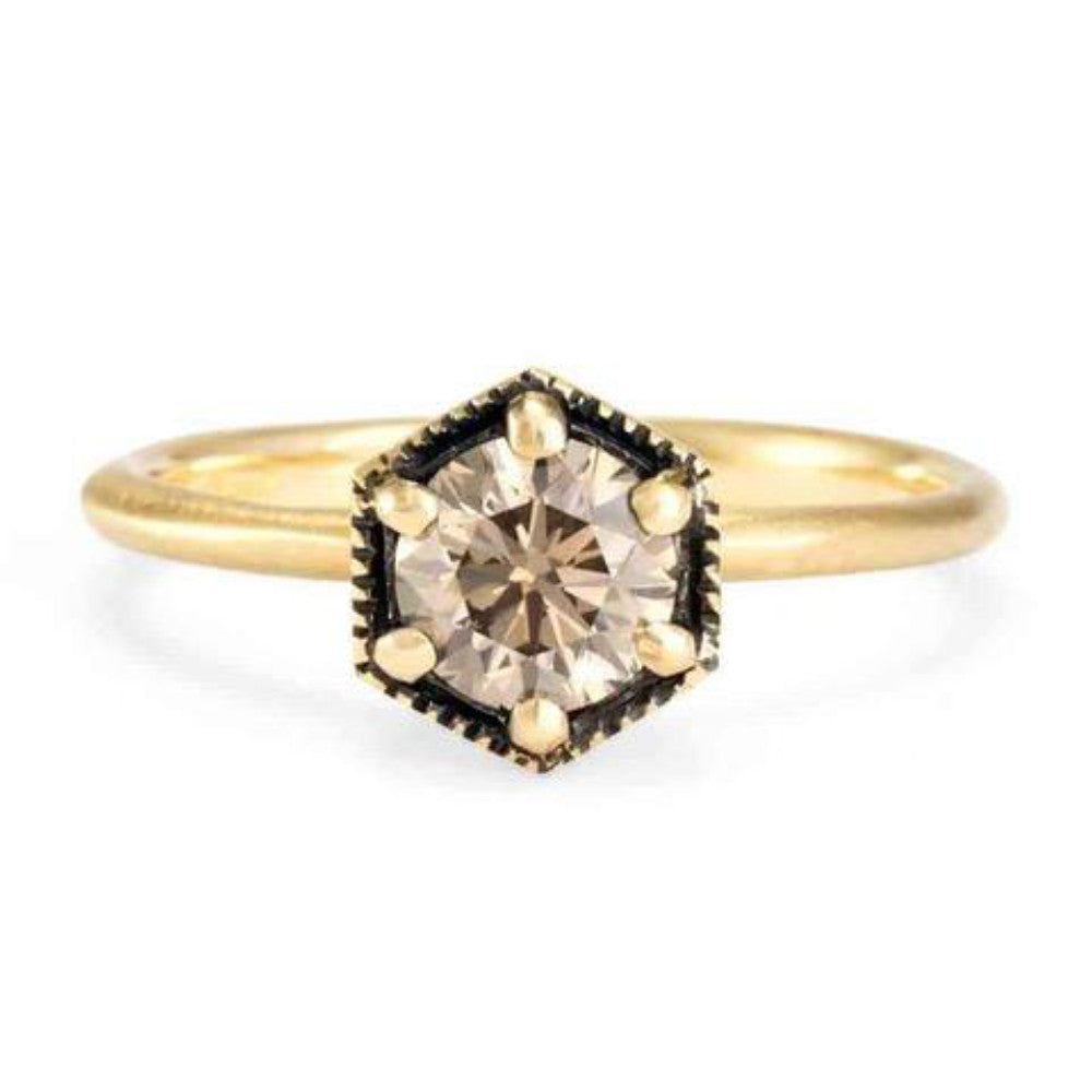 and tcw bordeaux rose brown gold pin effy diamond ring