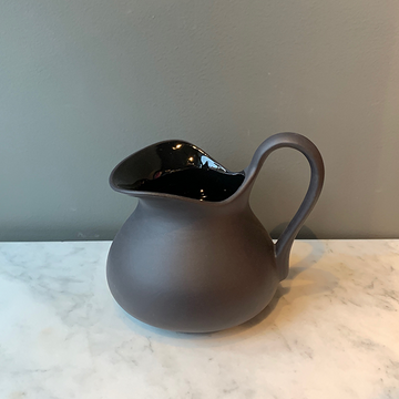 Sir | Madame Matte Black Aviary Pitcher No 2