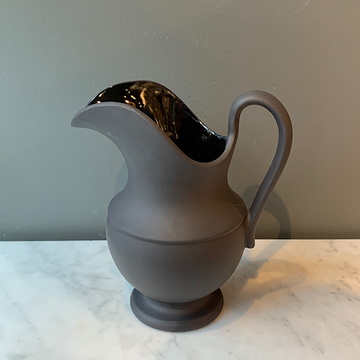 Sir | Madame Matte Black Aviary Pitcher No 1