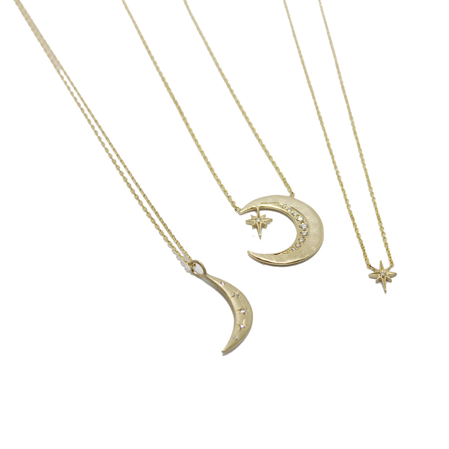 Sirciam Moon & Stars Necklace