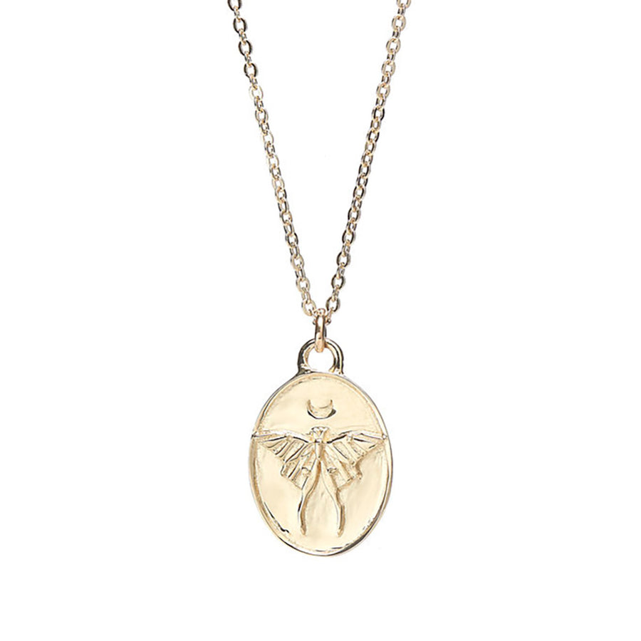 Talon Luna Moth Necklace