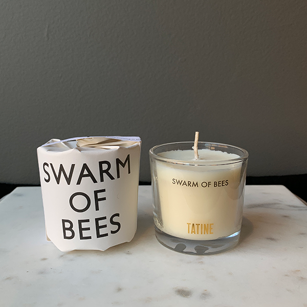 Tatine Swarm of Bees Votive Candle