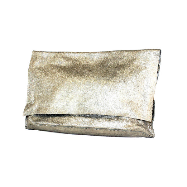 Tracey Tanner Carmen Flap Clutch + Champagne Sparkle