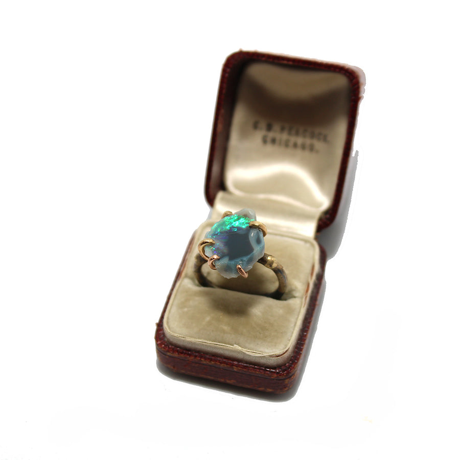 Variance Objects Australian Opal Ring