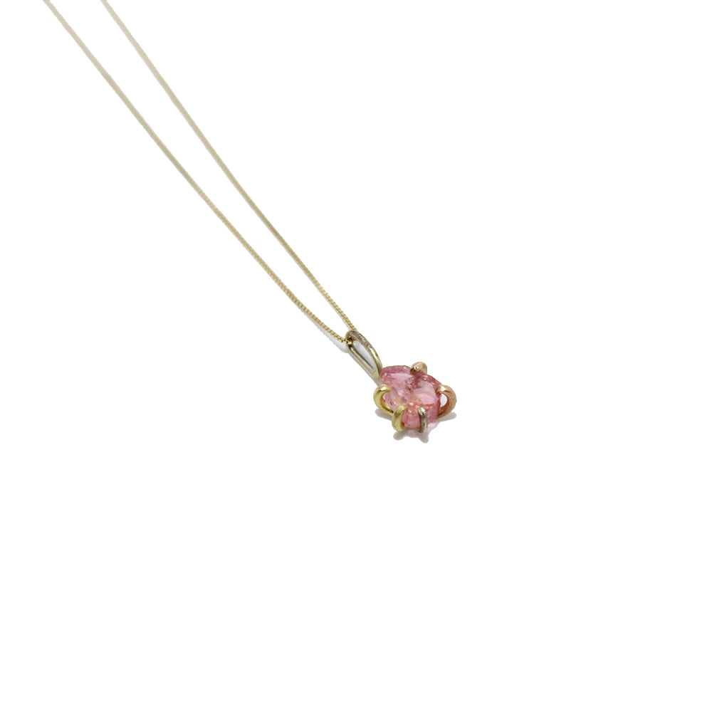 Variance Objects Pink Tourmaline Necklace