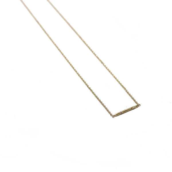 Victoria Cunningham Rotating Stick Necklace
