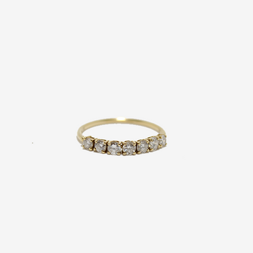 Yi Collection Diamond Half Flexi Ring