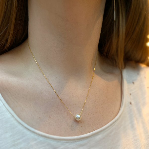 Yi Collection 18k Pearl Necklace
