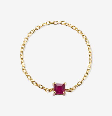 Yi Collection Ruby Chain Ring