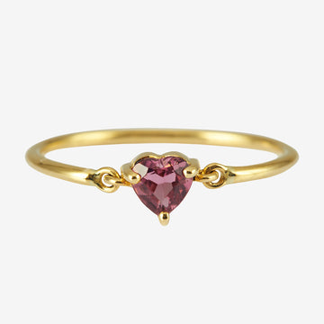 Yi Collection Ruby Heart Ring