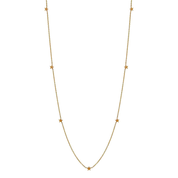 Zoe Chicco 14k Stars Necklace