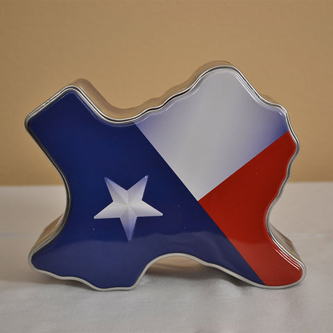 Texas Shaped Tin