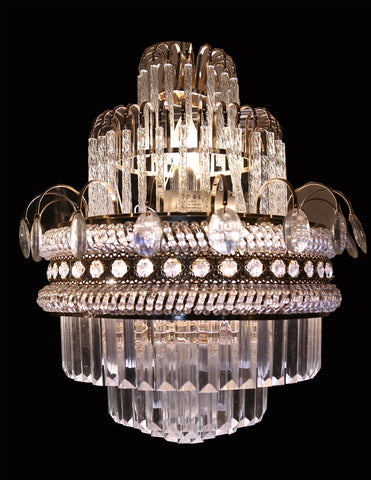 Circular crystal chandelier floba home goods circular crystal chandelier aloadofball Gallery
