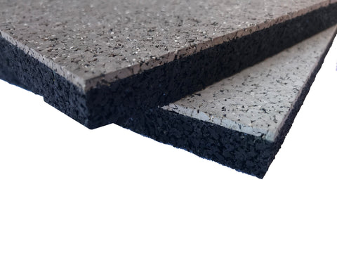 "Dual Shock High Impact Rolled Rubber Flooring - 5/8"" Thick - Syntheticturf.com"