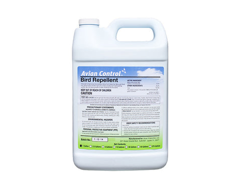 Avian Control Bird Repellent - 1 Gallon