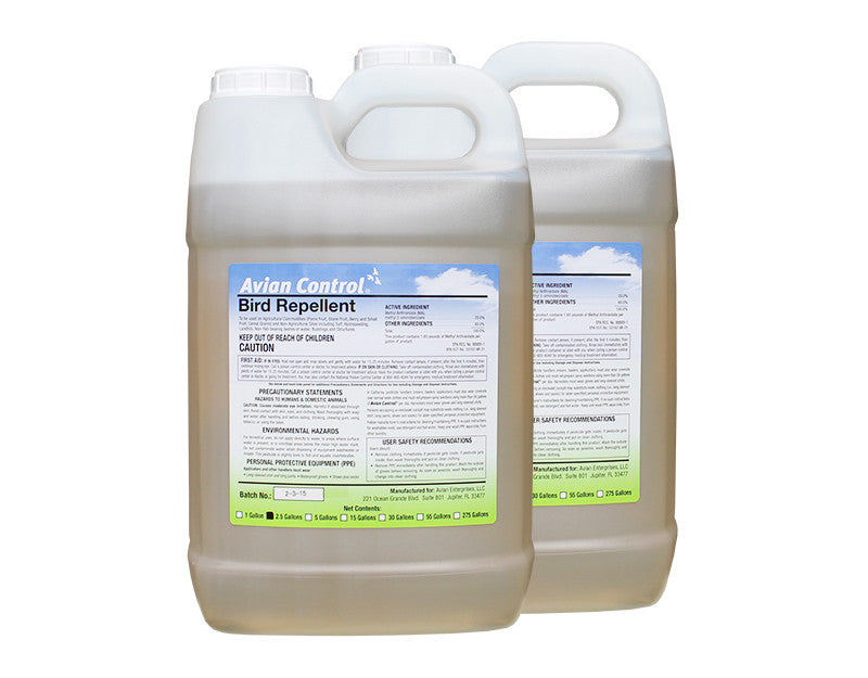 Avian Control Bird Repellent - 5 Gallons