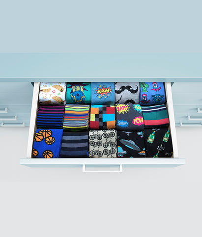 Perfect Sock Drawer