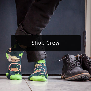 Shop Crew Socks | Men's Collection