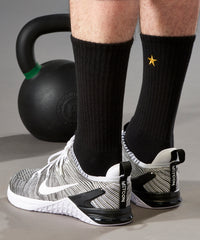 Lift it Like A Superstar : Bamboo Athletic Socks