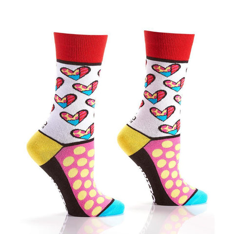 Spot The Heart: Women's Crew Socks | Romero Britto Collection