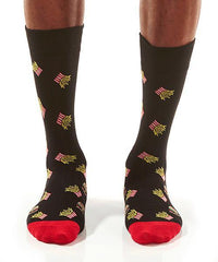 Burger & Fries Men's Crew Socks