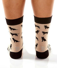 Go Fetch: Women's Novelty Crew Socks