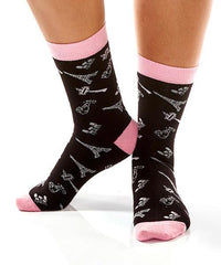 Paris! Women's Crew Socks