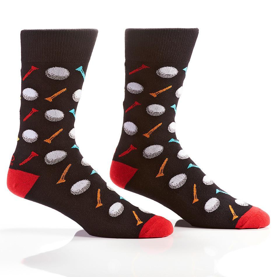 77dd3bc55f0d Clothing, Shoes & Jewelry Funky Dress socks for men novelty socks 2 Pack  Patterned Cotton Crew ...