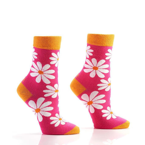Fresh As A Daisy: Women's Novelty Crew Socks