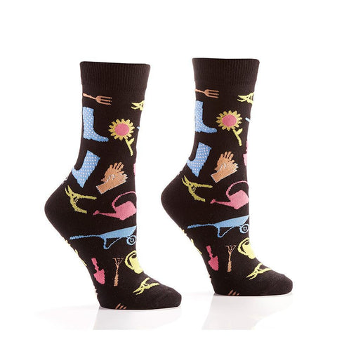 Pots & Plants: Women's Novelty Crew Socks