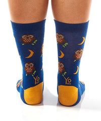 Night Owl: Women's Novelty Crew Socks