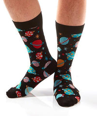 Galaxy Men's Crew Socks