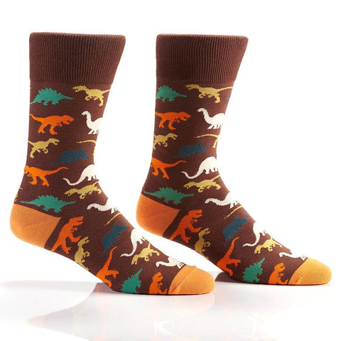 Land Before Time: Men's Novelty Crew Socks