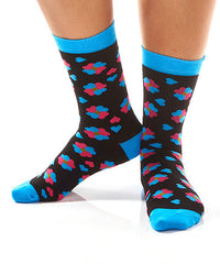 Clove of Hearts: Women's Crew Socks