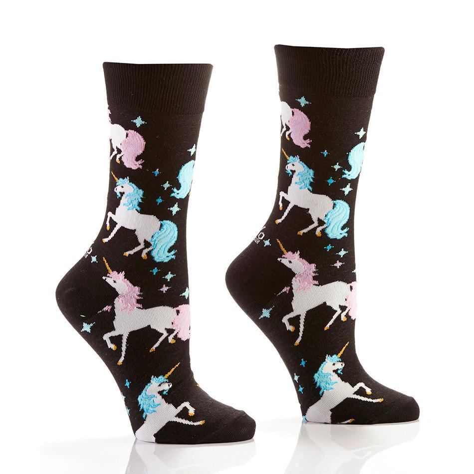 Enchanted Adventures: Women's Novelty Crew Socks