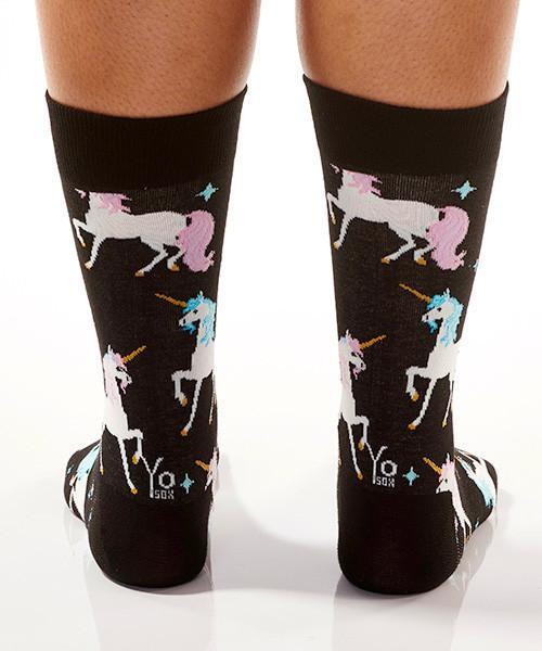Unicorn & Stars Women's Crew Socks