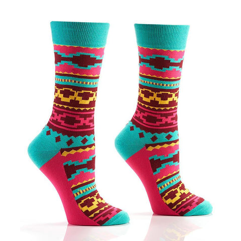 Aztec Art: Women's Crew Socks